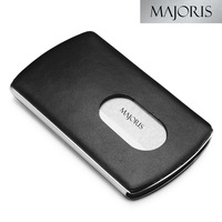 Commercial majoris male genuine leather business card box card stock 78206