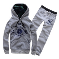 Free shipping 2013 spring and autumn ball casual sport suits hoody sets Men sweatshirt lovers set