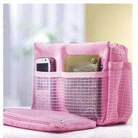1078 pink bags sorting bags multifunctional cosmetic storage bag cosmetic bag storage