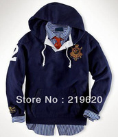 NEWEST POLO Fleece Pullover Hooded Hoodie for Men Sport Suit Hoodie Fashion Spring Autumn Winter Coats Jackets Drop Shipping