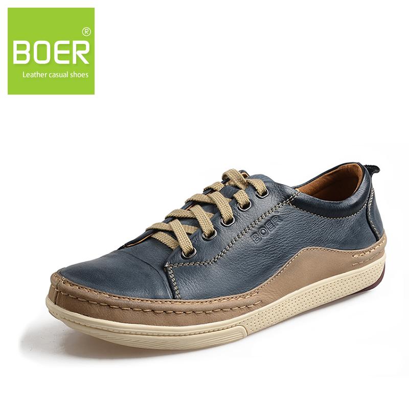 Бур первый слой из коровьей мужской кожи натуральная кожа ежедневно свободного покроя туфли с низким уровнем верха обуви скейтбординг обувь 1015