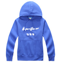 KPOP SJ Super Junior EFE Navy Blue New Fashion Special Sweater Pullover Hoodie Mixed Wholesale WY058