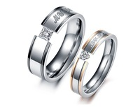 New Arrieve Gift Wholesale  women rings fashion jewelry Feminine 316L Stainless Steel ring for wedding  351