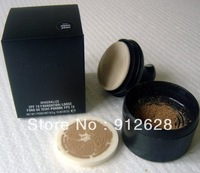 FREE SHIPPING ! New makeup Mineralize SPF15 Foundation Loose Powder !12pcs/lot!