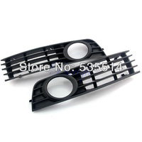 FOG LIGHT BUMPER GRILL RIGHT AND LEFT FIT FOR 02 03 04 05 AUDI A4 B6