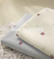 Free shipping 135cm width Plain cotton fabric handmade patchwork clothing fresh Shuiyu Star flag 2colors