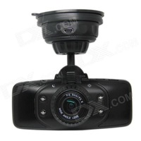"G9000 2.7"" TFT 1080P Full HD 5.0MP CMOS Wide Angle Car DVD Camcorder w/ HDMI / G-Sensor / 4-LED"