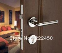 Free shipping!Stainless Steel Lever Handle Security Door Lock /Door Handle Keyed Locks For Wooden door door handle