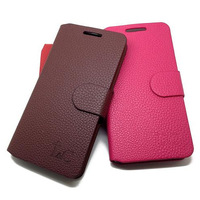 Free Shipping (1pcs)Top Quality Series leather case for Lenovo S750 case cover Classic design