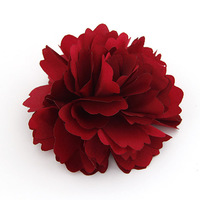 Delicate Fashion Simple Cloth Flower Brooch OR Tire Free shipping