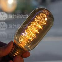 Vintage Edison Bulb light 60W 110V 220V e27 T45 incandescent bulb for home decoration