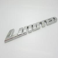 Free shipping, Excellent LIMITED metal car Badge Emblem logo Sticker For Toyota, Unique 3D Design, Car metal emblem