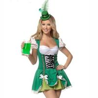 Free shipping cosplay/make up Halloween maid uniform fashion 2013 halloween clothes photo service