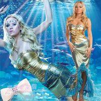 Free shipping cosplay/make up Halloween clothes mermaid princess clothes ds cosplay/make up costume mermaid costumes