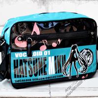 Vocaloid Hatsune Miku rin cosplay Fashion Messenger school bag