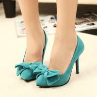 2014 new thin heels shoes high-heeled shoes sex blue black heels women's pumps high fashion heels OL shoes ,free shipping