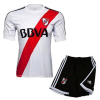 River white homecourt short-sleeve football jersey 2012 - 2013 uniforms jersey