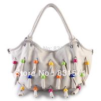 Free shipping Elegant sweet The new han edition tassel single shoulder bag handbag