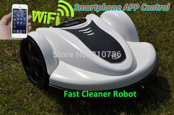 2014 Good Feedback Automatic Robot Garden Mower _Li-ion Battery_Newest Subarea Setting +Password,Schedule +Auto Recharge
