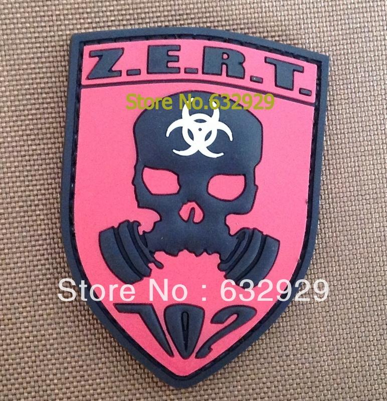 Military uniform pvc patch/ rubber patch/ velcro patch/Morale pvc ...