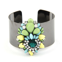 (Min order $15 ,mix order) wholesale Bangles Fashion Rhinestone/Resin colour Bracelets fashion jewelry ,free shipping. BA90