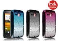 3 color,Imak Raindrop clear case For HTC A320e Desire C Golf, with free screen protector,Free shipping