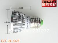 Free Shipping 3W LED Bulb Bubble Ball High Power E27 GU10 E14 B22 3*1W 4*1W Dimmable Lamp Light,AC85-265V,Cool/Warm White