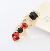 Fashion European&America retro exaggrated precious stone women ring wholesales 2013 free shipping