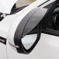 Free shipping Rearview mirror rain gear 3D Car Rain Eyebrow for Kia Rio k2 k3 k5 forte Sorento Sportage R soul accessories