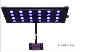"EVO Quad Clip 5W Timer LED Aquarium Light 18"" 24x 5 Watt Marine Coral Reef Nano"