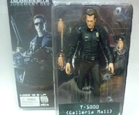 normal version terminator Villain police Liquid robot T1000 toy model 7 inch action Figure with interchangeable accessories