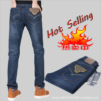 Free shipping, hot-selling! men's business and casual jeans male slim straight pants all-match with high quality ZF625