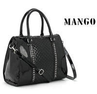 Special offer 2013 Fashion designer Brand women Handbag Mango women Messenger bag Black bag