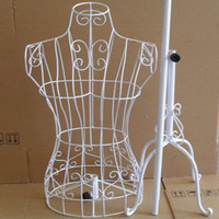 Wrought iron model clothes rack display women full-body mannequins adjustable mannequin female
