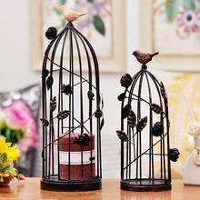 Iron black bird cage Birdcage for wedding decoration and home decor Hand made crafts(China (Mainland))
