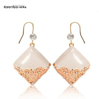 Chinese style - eye square cutout earrings earring female
