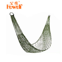 Nylon rope hammock mesh hammock single camping beach hammock lashing free shipping