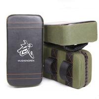 HOT!New Muay Thai Boxing TKD Training Gear Punching Bag Kick Pad Foot Target Green Black Free Shipping