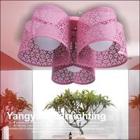 Free Shipping  Romantic heart-shaped bedroom led ceiling lamp modern minimalist