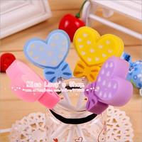 Free ship 1lot=30pcs&Korean stationery kawaii cute colourful Love eraser/school supplies