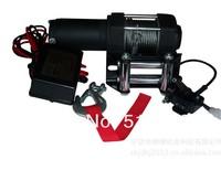 3500LB winch,electric winch 12V,4X4/UTV/ATV WINCH free shipping