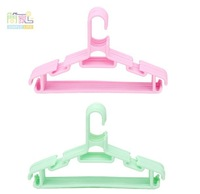 Children's plastic clothes hanger,clothes rack, coat hanger candy color good quality, lowest price, free shipping 20 pieces/lot