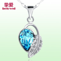925 pure silver necklace female pendant chain jewelry birthday gift girlfriend gifts