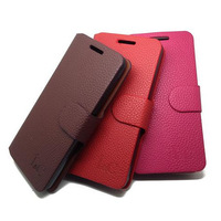 Free Shipping (20pcs/lot)Top Quality Series leather case for Lenovo A670T case cover Classic design