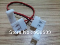 50pcs/lot,Free welding, Extension cable, 10mm/8mm, For LED Strip lights,single color