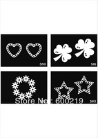 50pcs Repeatable template 210mm*150mm- Pro Body Art Deluxe Kit  tattoo  stencil big Free shipping