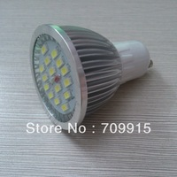 x10 15LED 5730SMD 550-600Lm Lumen output 120 degree WW/CW GU10 7W light Lamp Bulb  2 years warranty