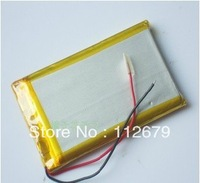 Size 356575 3.7V 1800mah Lithium polymer Battery with Protection Board For MP4 PSP GPS Tablet PCs PDA Free Shipping