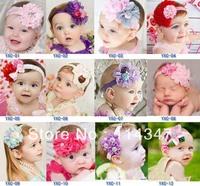 12 Colors Lovely Fashion European Girls Hair Band Infant Toddler Baby Hair wear Headband FD13713
