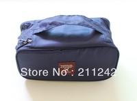 100% water-resistant travel storage bag toiletry bag with 4pcs elastic bag and separate zip-bag inside